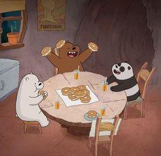 — we bare bears. Foto Cartoon, Cartoon Icons, Bear Cartoon, Ice Bear We Bare Bears, 3 Bears, Cute Bears, We Bare Bears Wallpapers, Panda Wallpapers, Cute Cartoon Wallpapers
