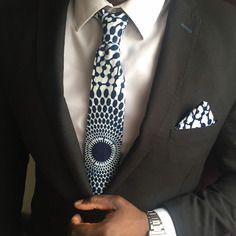 *** cravate wax bleu ***                                                                                                                                                      Plus