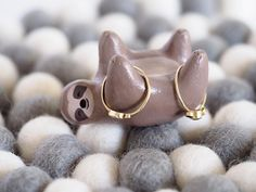 Sloth ring holder