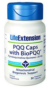 PQQ Caps with BioPQQ®, 20 mg, 30 vegetarian capsules: Your mitochondria are… #Life_Extension #energy #energymanagement #LifeExtension_com