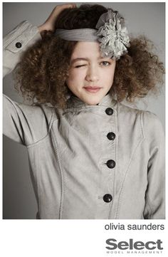 Curl Spotter: New Face Olivia Saunders for Select
