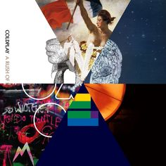 It's like a rainbow of I LOVE COLDPLAY!