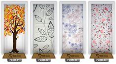 Adesivo Decorativo Para Portas Em Vinil Estampas Exclusivas - R$ 69,90