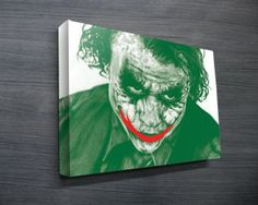 The Joker Pop Art II from $26.00. This is another pop art canvas print that depicts the Joker from Christian Bale / Heath Ledgers Batman movie. As with all art on this site, we offer these prints as stretched canvas prints, framed print, rolled or paper print or wall stickers / decals. http://www.canvasprintsaustralia.net.au/  #photosoncanvas #Canvasprints #Canvasprinting