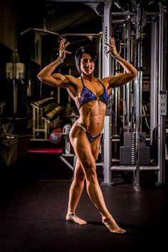NPC Woman's Physique Competitor Melanie Freeland
