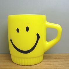 Smiley Faced mug
