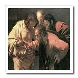 BLN Christian & Biblical Fine Art Collection - The Doubting of St. Thomas by Caravaggio - Iron on Heat Transfers - 10x10 Iron on Heat Transfer for White Material / http://www.contactchristians.com/bln-christian-biblical-fine-art-collection-the-doubting-of-st-thomas-by-caravaggio-iron-on-heat-transfers-10x10-iron-on-heat-transfer-for-white-material/