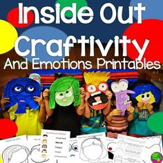 "++Your+kids+will+love+creating+the+characters+from+Inside+Out!++Included+in+this+bundle+are+all+of+the+templates+to+create+the+characters+""Anger"",+Sadness"",+""Joy"",+""Fear,+and+""Disgust"".++Along+with+the+templates+are+an+emotions+matching+activity,+a+boy+and+girl+emotions+drawing+printable+and+writing+activity.Thank+you+for+shopping+with+Classroom+Base+Camp!"