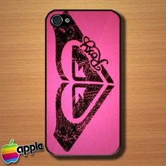 Roxy Surf Logo Custom iPhone 4 or 4S Case Cover | Merchanstore - Accessories on ArtFire