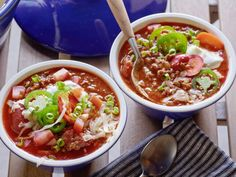 Recipe of the Day: Game-Day Chili          Top Geoffrey's meaty chili with classic fixings, like jalapenos, sour cream and cheddar.            #RecipeOfTheDay