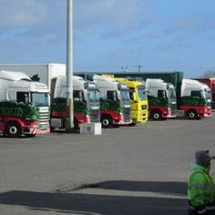 Rugby truck stop #stobart
