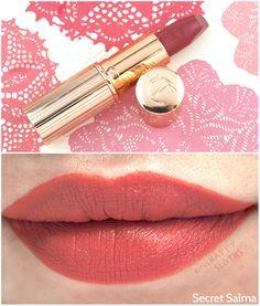 "The Happy Sloths: Charlotte Tilbury Hot Lips Lipstick in ""Miranda May"" &…"