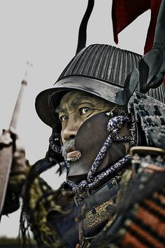 fabforgottennobility:SAMURAI'S STARE by thechebb on Flickr.
