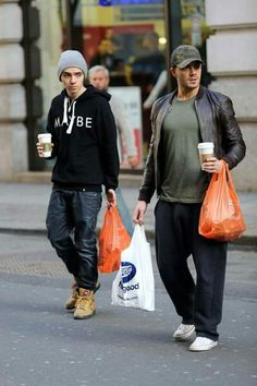 Nathan Sykes and Max george - shopping
