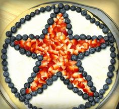 Fourth Of July Desserts Fruit Pizza - 4th Of July Dessert Flag Fruit Pizza Kids Activities Saving - The Fourth of July 2013