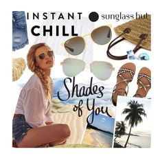 """""""Shades of You: Sunglass Hut Contest Entry"""" by pisces7 ❤ liked on Polyvore featuring Tiffany & Co., Carolina Herrera, Billabong, Ray-Ban and shadesofyou"""