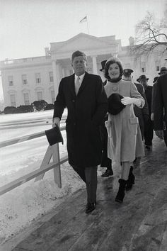 President Kennedy and First Lady Jacqueline