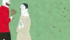 Elena Odriozola: Aplastamiento de las gotas Elena Odriozola, Sarah Moon, Gustav Klimt, Red Riding Hood, Little Red, Book Illustration, Drawings, Inspiration, Illustrator