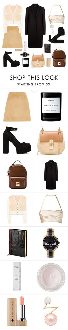 """""""Nearly There...."""" by sue-mes ❤ liked on Polyvore featuring River Island, Byredo, Alexander Wang, Chloé, Mark Cross, The Row, Dolci Follie, Aspinal of London, Fendi and Révérence de Bastien"""