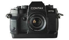 Lomopedia: A highly advanced electronic SLR camera loved by many up to the present, the Contax RTS III was introduced by Yashica/Kyocera in 1990 - Camera Frame, Slr Film Camera, Leica Camera, Camera Lens, Nikon Dslr, 35mm Film, Old Cameras, Vintage Cameras, Canon Cameras