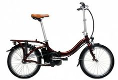 Xe máy điện, xe đạp điện cho giới trẻ thêm năng động: Xe đạp điện Folding