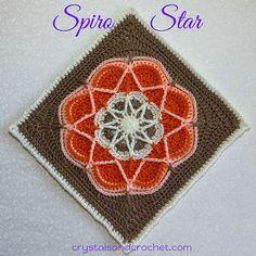 Ravelry: Spiro Star pattern by Helen Shrimpton