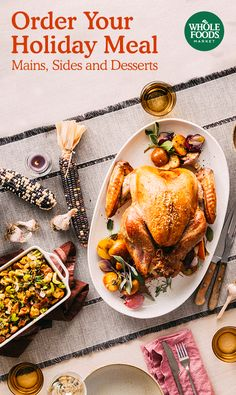 Order Your Holiday Meal // Enjoy the traditional dishes you cherish – crisp green beans, tart cranberry sauce and perfectly cooked turkey. Order delicious appetizers, mains, sides and desserts.