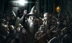 Moria - http://www.deviantart.com/art/The-things-you-find-in-the-mines-of-Moria-467726282