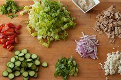 Lebanese Fatoush Salad