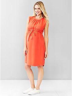 Tencel® sleeveless dress   Gap