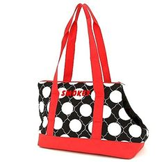 Personalized Black and White Dots Pet Carrier *** Details can be found by clicking on the image.(This is an Amazon affiliate link and I receive a commission for the sales)