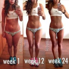 This transformation is amazing and I am definitely at her week 1 nice to see what I could be ud83dude0f......