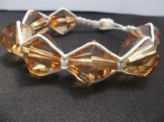 Hemp bracelet // beaded hemp bracelet // by CaliGirlCustoms, $12.99