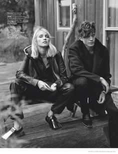 Simone Wears Fall Outerwear Looks in Marie Claire Netherlands September Issue