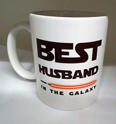 Best Husband in the Galaxy star wars 11oz ceramic mug Valentines day