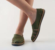 Groene schoen - Anna Korshun