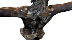 Stmo. Cristo de la Buena Muerte y Ánimas (Mena) de Málaga. Se trata de una digitalización de la talla original. #backup3D http://vimeo.com/78248531