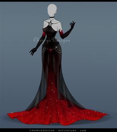 (closed) Outfit Adopt 640 - Persephone by CherrysDesigns.deviantart.com on @DeviantArt
