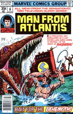 Man From Atlantis n°6, July 1978, cover by Ernie Chan