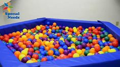Introducing new Budget Ball Pits from eSpecial Needs! Our new Pentagon, Hexagon and Octagon-shaped ball pits provide the extra room and fun both children and adults are looking for when it comes to sensory integration play.