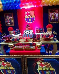 Para Los Amantes Del Fútbol Y Pelota Hoy Traemos Un Kit Imprimible - Barcelona fc table