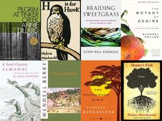 """""""I had one of those idyllic childhoods where I roamed feral in the landscape around my house. I don't know many kids who are doing that now,"""" said Helen Macdonald, who shares some of her favorite nature writing."""