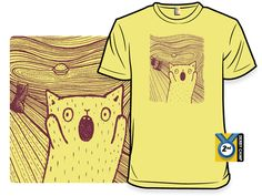 Woot of the day ~ 'The Mrowr' shirt, $12, free shipping.