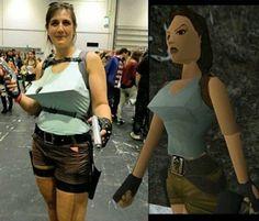 Tomb Raider cosplay