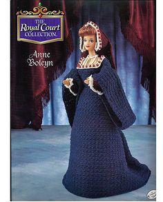 Der Königshof Sammlung Anne Boleyn Modepuppe von grammysyarngarden