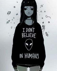 provocative-planet-pics-please.tumblr.com I dont believe in humans     #Anime…