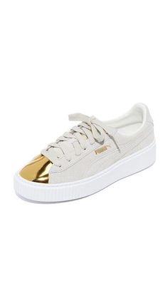 07e2e34531a6 PUMA Creeper Metallic Toe Sneakers