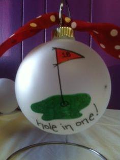 Golf Ornament  #golf #lorisgolfshoppe