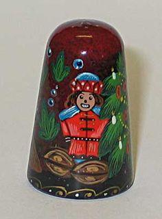"Lacquered miniature  ""Shelkunchik"" (""Nutcracker"")"