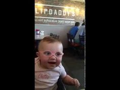Baby's Reaction To Wearing Glasses For The First Time Goes Viral